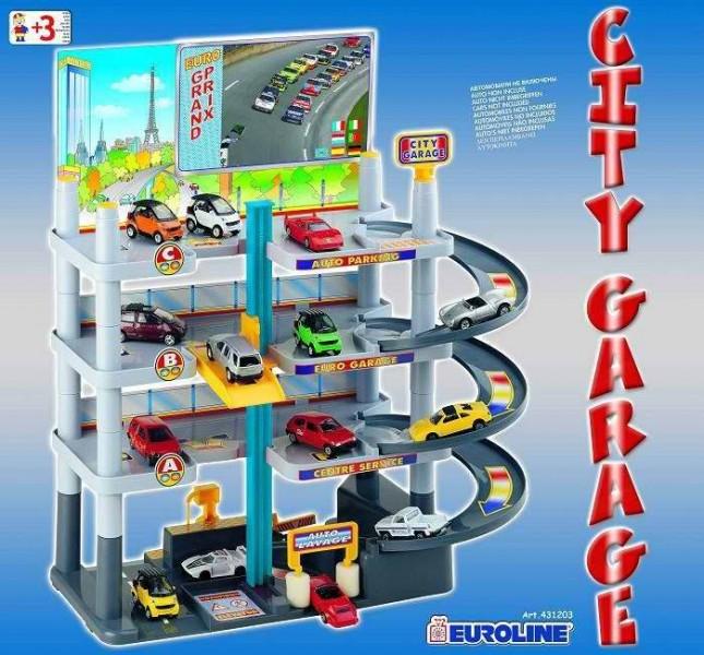 Детские гаражи и парковки