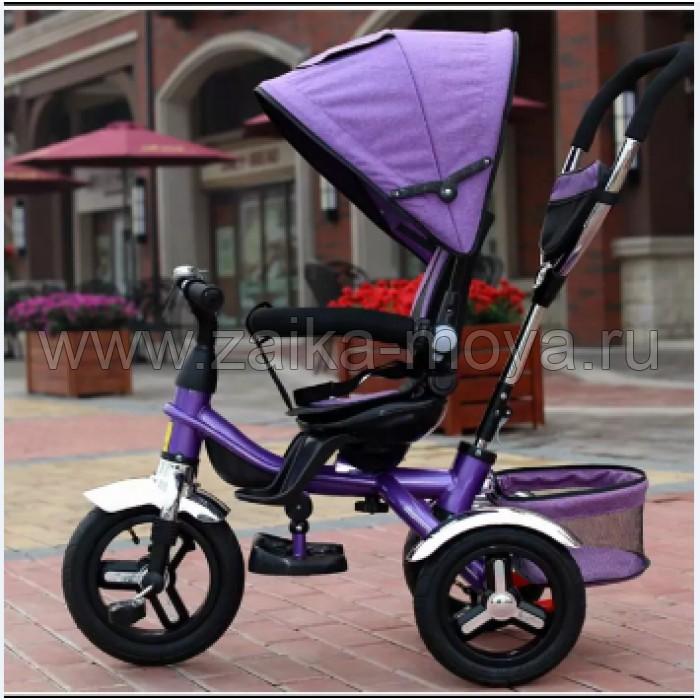 Велосипед трехколесный с поворотным сиденьем,надувные колеса 12 10 -  Интернет-магазин детских f9e227126c1