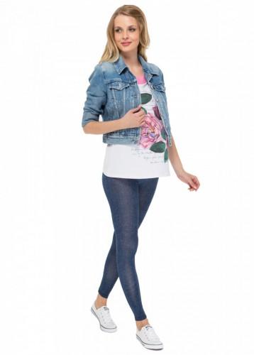 ebe5dd6cff20 Леггинсы ЛВ04 синий джинс для беременных. Арт. 47249 - Интернет ...