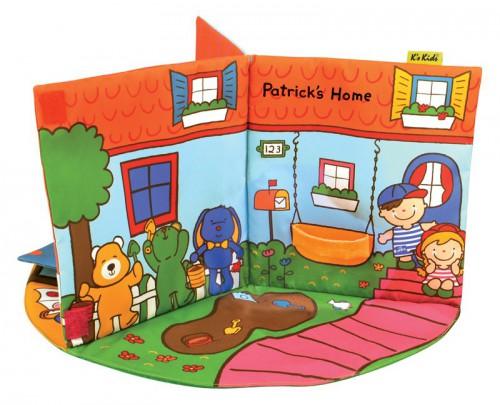 Развивающая книжка В Гостях У Патрика K s Kids арт. KA745 - Интернет ... c9cb1d1d141