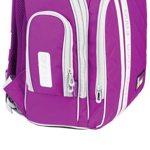 88354cbeccda Ранец для учеников средней школы Tiger Family, с ортопедической спинкой, 19  л,универсальный, фиолетовый, 39х31х22 см, 1741D