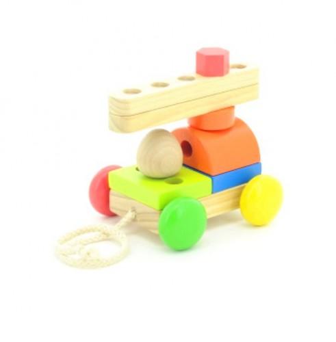 Конструктор Вертолет Мир деревянных игрушек, арт. Д399 - Интернет ... 1758bdac014