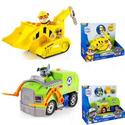 8f00bb3cf853 Игрушка Большой автомобиль спасателей со звуком и светом, Paw Patrol, арт.  16637