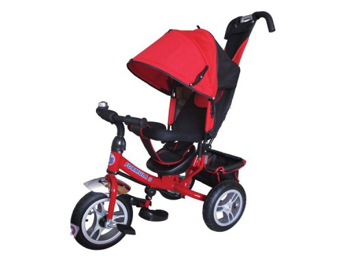 """Велосипед трехколесный Formula 3 надувные колеса 12""""/10"""