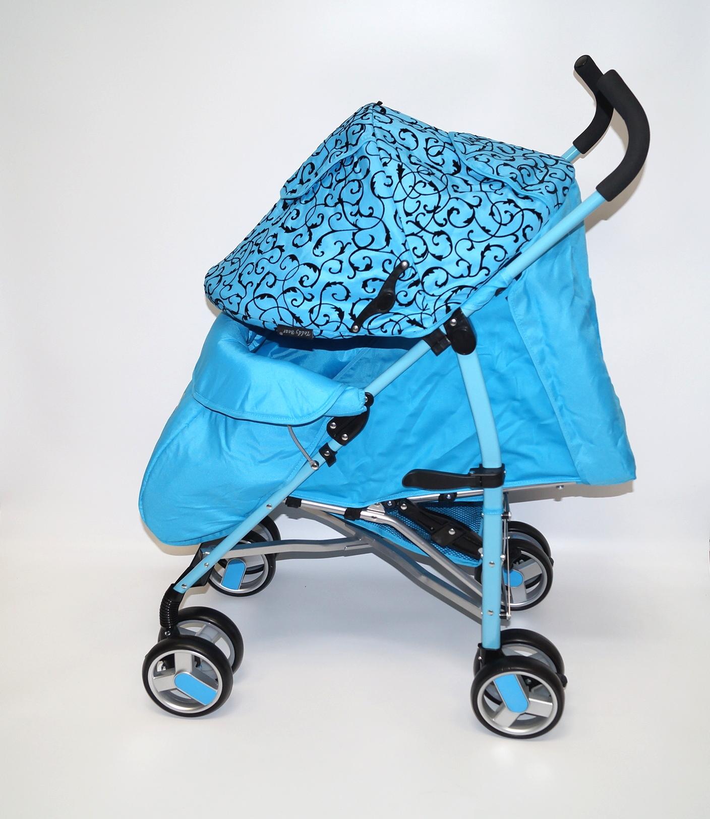 Прогулочная коляска Teddy Bear SL - 109 Graffiti grey