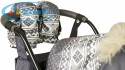 Kristy Premium серый скандинавский орнамент