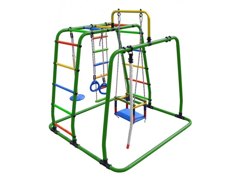 Уличный детский спортивный комплекс Формула здоровья Вершинка W Плюс Розовый радуга