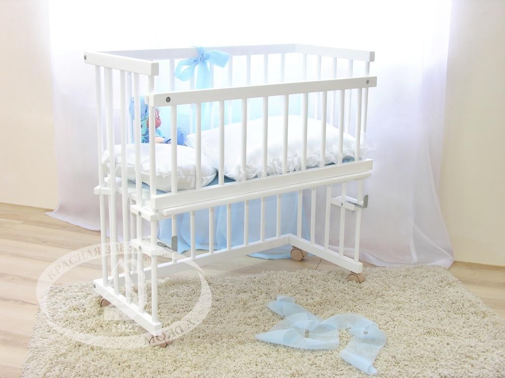 Кроватки для новорожденных приставные
